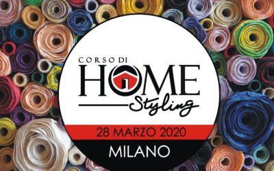 Corso di Home Styling con Gianmarco Toscano | MILANO