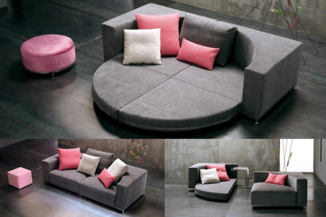 Un divano trasformabile