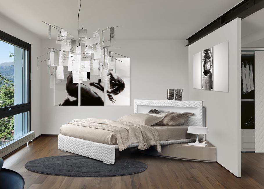 Un letto contenitore angolare
