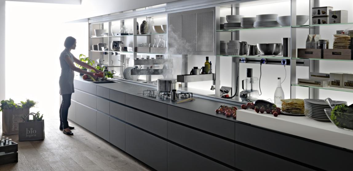 La cucina celata